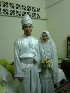 Muhammad Anshar dan Nor Faizah, pengantin