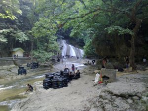 waterfall at Bantimurung