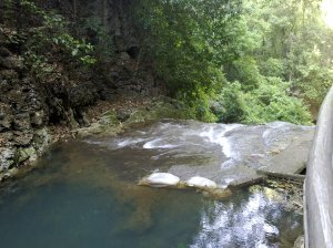 Bantimurung waterfall from top