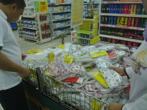 shopping at Giant..