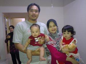 Amirul's family