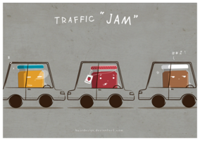 traffic_jam_by_kusodesign-d5rgx7x