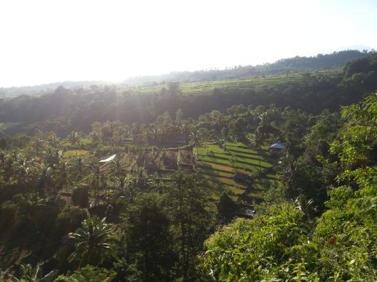 Subhanallah.. pemandangan yang cantik..