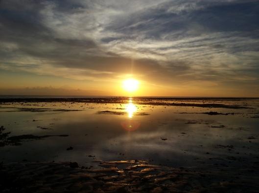 Ni start merenung sunset..